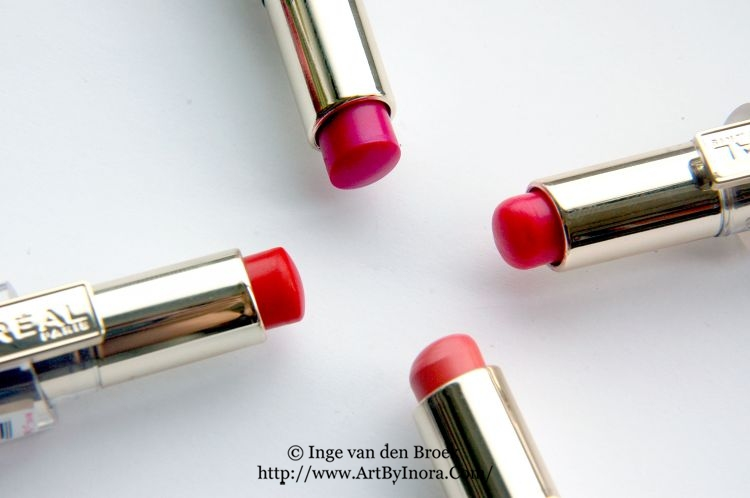 Review L'Oreal Caresse Lipstick