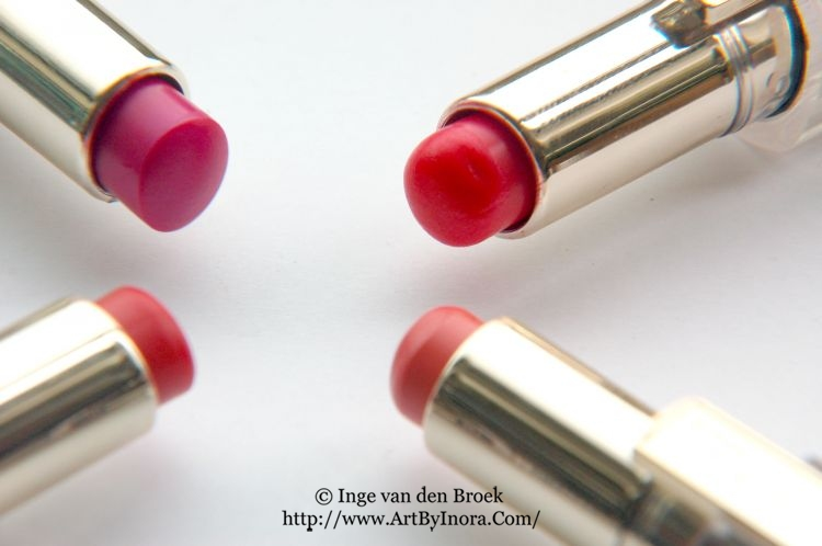 Review L'Oreal Caresse Lipstick